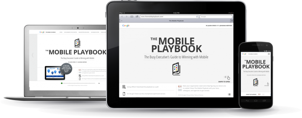 0 Google - The Mobile Playbook