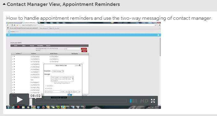 Video Tutorial - Contact Manager