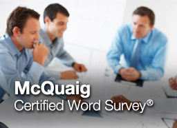 mcquaig word survey